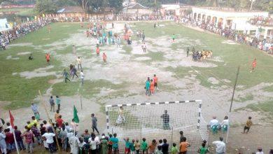 Photo of আড়াইহাজারে মুজিব শতবর্ষ উপলক্ষে ঈশান বাবু ফুটবল টুর্নামেন্ট