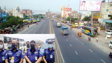 Photo of ঢাকা-চট্টগ্রাম মহাসড়কের সাইনবোর্ড থেকে কাচঁপুর হাইওয়ে পুলিশের যাত্রা শুরু